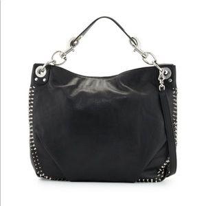 Rebecca Minkoff Leather Studded Hobo Bag